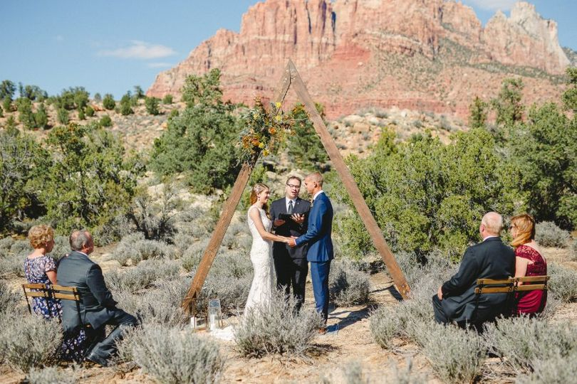 St. George Utah Wedding Officiant