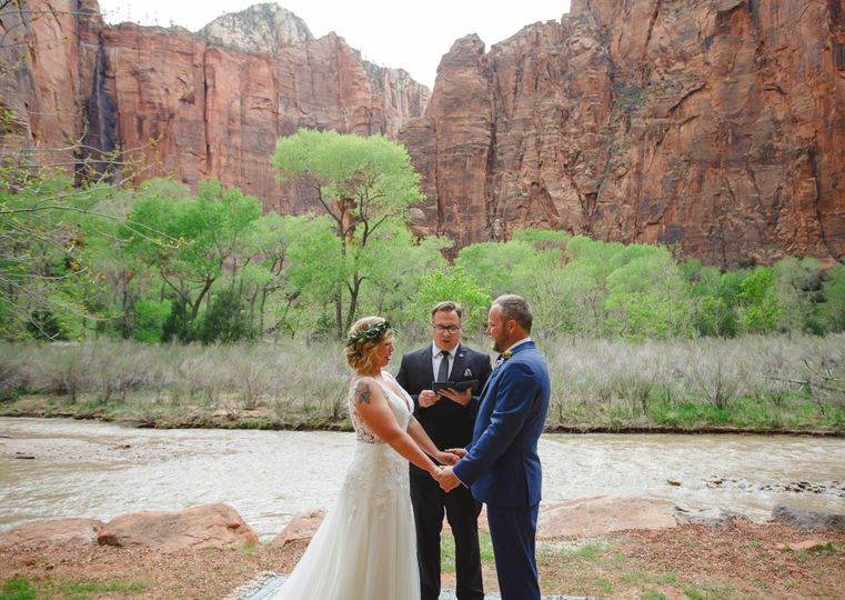 St. George/Zion Wedding Officiant