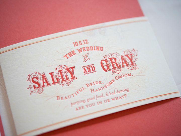 Tmx 1393546594139 Gusruby Sg  Portsmouth, New Hampshire wedding invitation