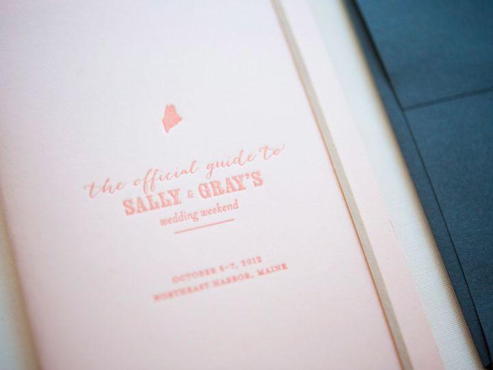 Tmx 1393546605846 Gusruby Sg 1 Portsmouth, New Hampshire wedding invitation