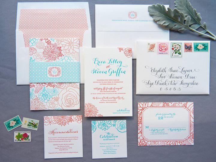 Tmx 1393546754757 Ericasteve  Portsmouth, New Hampshire wedding invitation