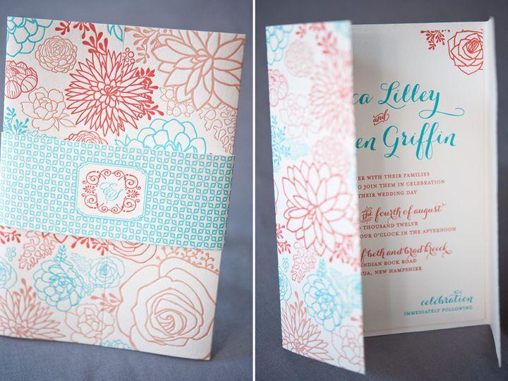 Tmx 1393546759949 Ericasteve  Portsmouth, New Hampshire wedding invitation