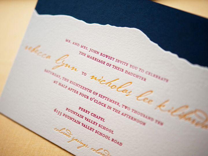 Tmx 1393546844039 Gusruby Rockmtn Invitatio Portsmouth, New Hampshire wedding invitation