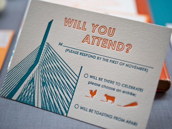 Tmx 1393546853445 Gusruby Bostonreplycar Portsmouth, New Hampshire wedding invitation