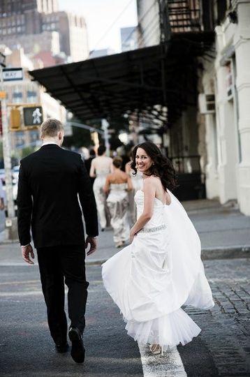Beautiful New York City Bride