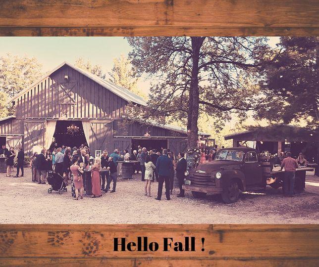 Fall day at the barn