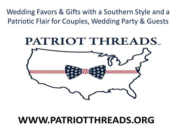 patriot threads logo weddings