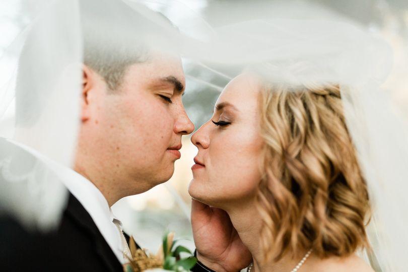 Close up couples portait