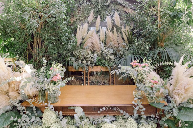 Greenhouse Wedding in Italy