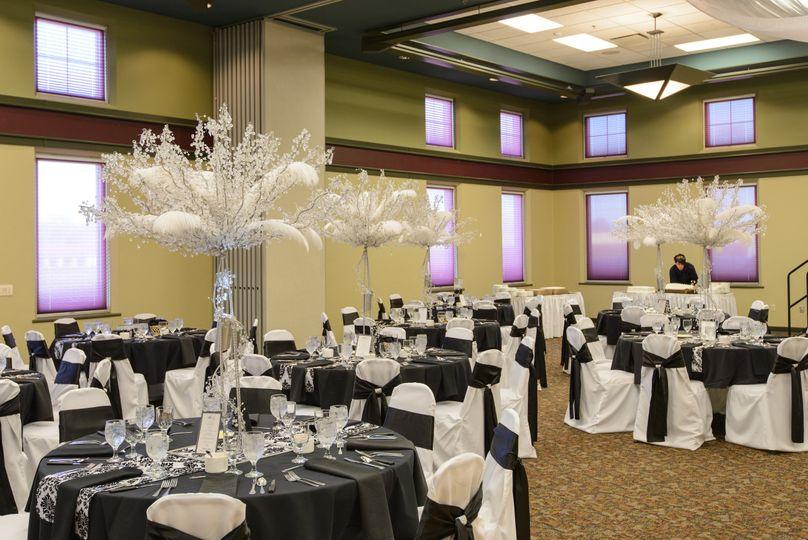 Elegant reception area