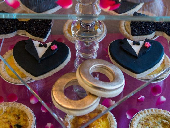 Tmx Same Sex Wedding Cookie Shoot1 51 1003377 1556019553 Desoto, TX wedding cake
