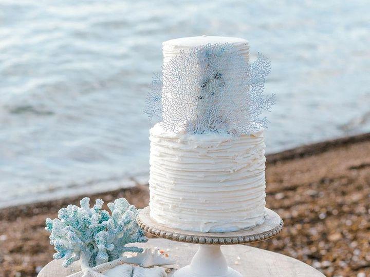 Tmx Sea Fan Cake 51 1003377 1556019601 Desoto, TX wedding cake