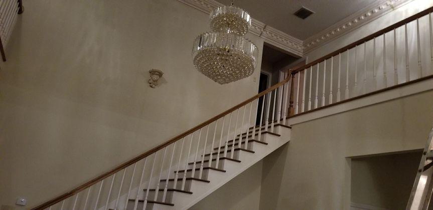 Stairway- bridesmaids room