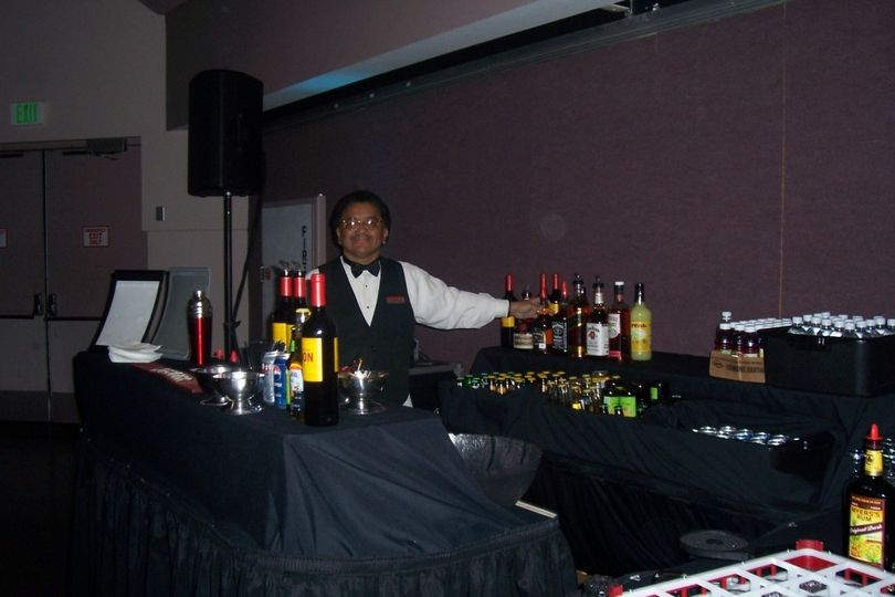 Liquor station