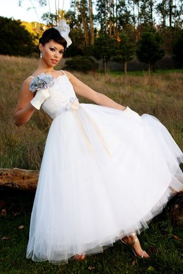 This dress is aptly named, 'Aurora' (for the aurora color accents). Part of the 'Dioresque'...