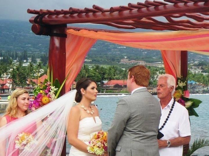 Tmx 1458759804335 Kam Wedding Kailua Kona, HI wedding officiant