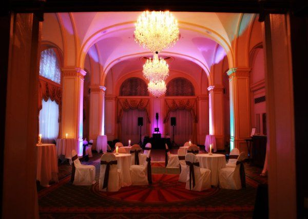 Omni Severin Ballroom with up lighting package