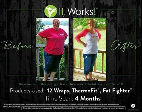 wraps thermo fat fighter