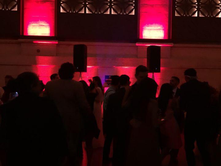 Dancing guests