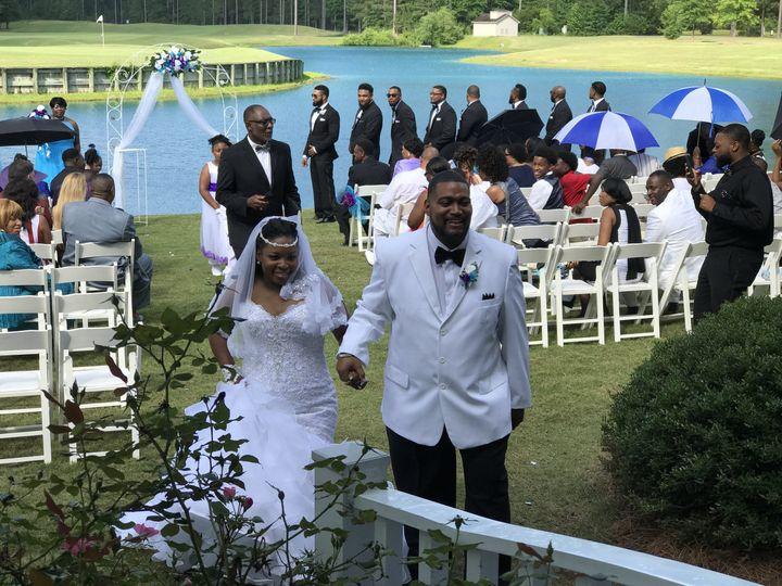 Ceremony at Carolina Colours