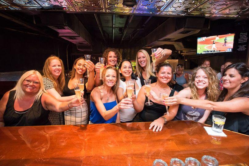 Party at the bar