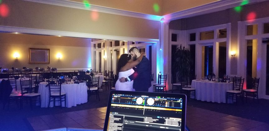 Kaylan & Joshua Brown wedding recepion April 22, 2018 DeerCreek Country Club