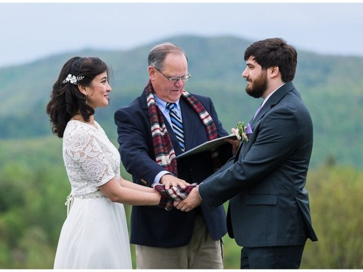 Tmx Img 0482 51 1158377 160245955640173 Asheville, NC wedding officiant
