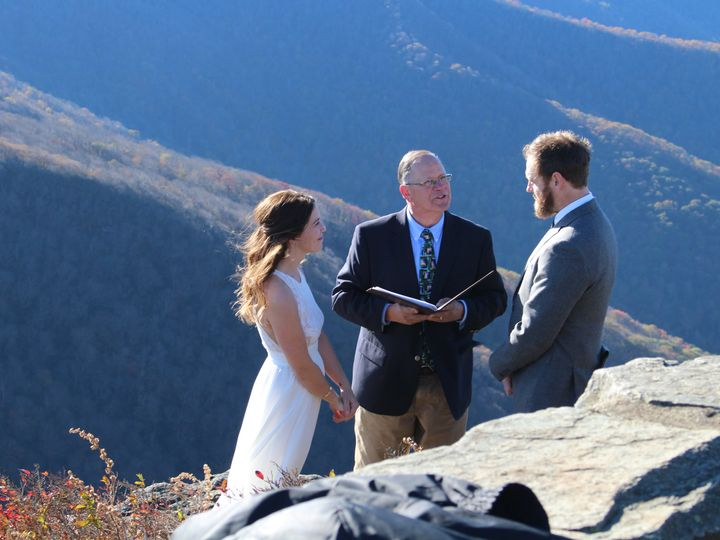 Tmx Img 4334 51 1158377 159716265620473 Asheville, NC wedding officiant