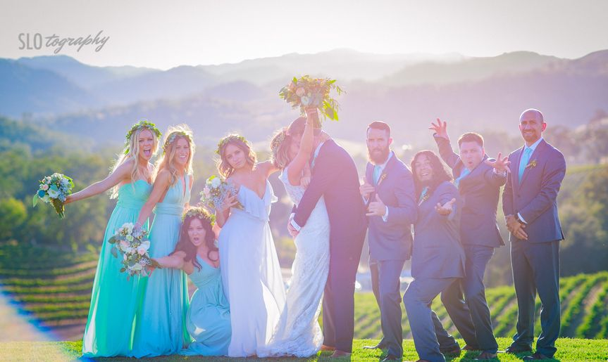 ideal wedding party