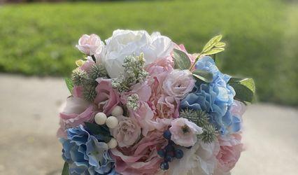 Violet and Dottie Florals 1