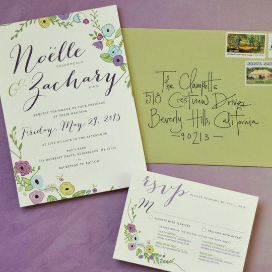 Laurel & Marie - Invitations - Tulsa, OK - WeddingWire