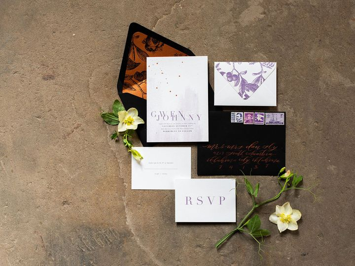 Tmx 1530810018 Bf73de4ffc796825 1530810016 052f3f96c1534b9e 1530810015454 3 Ruby 6118 Tulsa, OK wedding invitation