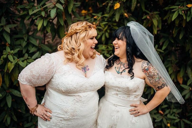Two brides