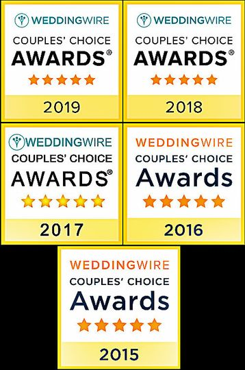 WeddingWire CC Winner Yearly!