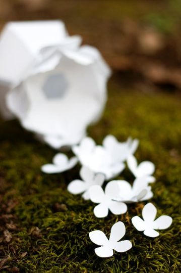 DIY paper flower favor boxes from thecrimsonpoppy.com - visit our website to choose your flower,...