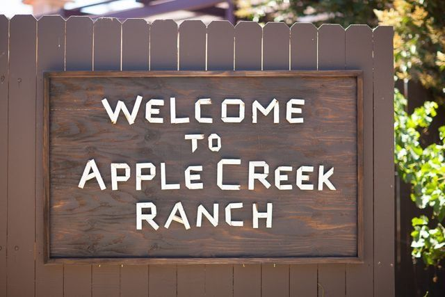 Apple Creek Ranch entrance