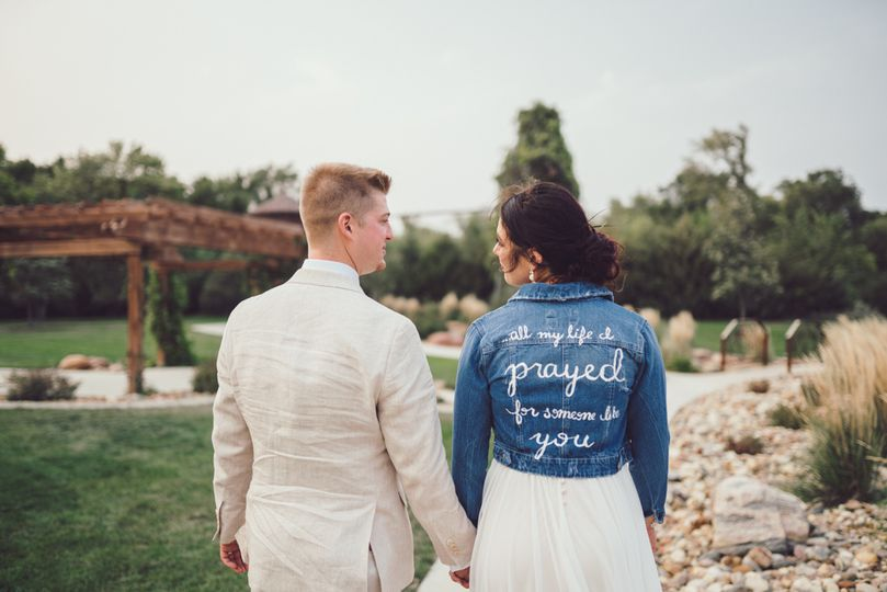 Bride & Groom, Custom Jacket