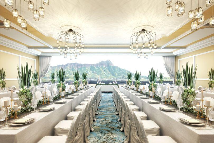 Leahi Banquet & Diamond Head