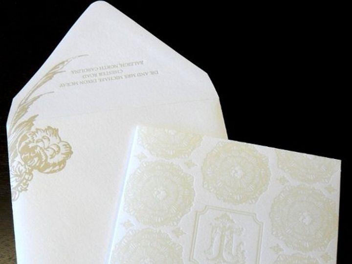 Tmx 1264527563913 ClaireMcKay3 Charlotte wedding invitation