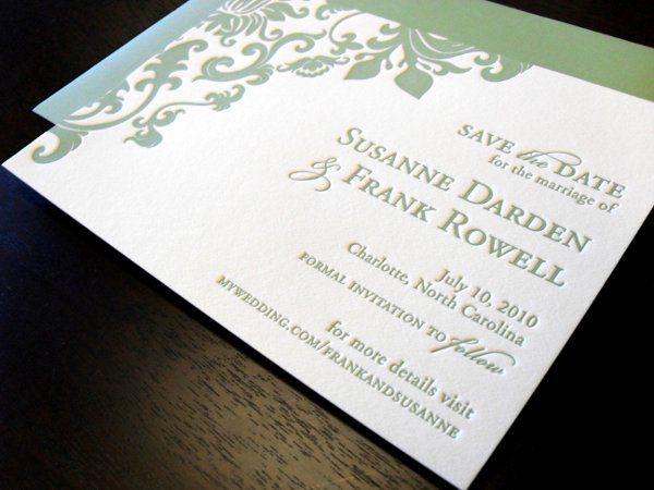 Tmx 1264527686632 DebbieDarden4 Charlotte wedding invitation