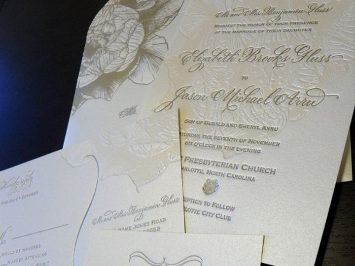 Tmx 1264527711038 ElizabethHuss10 Charlotte wedding invitation