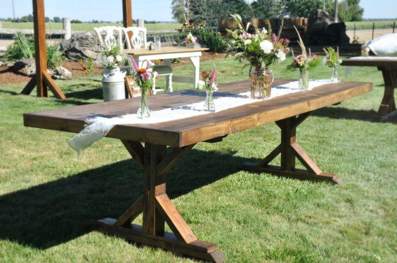 Harvest Farm Tables