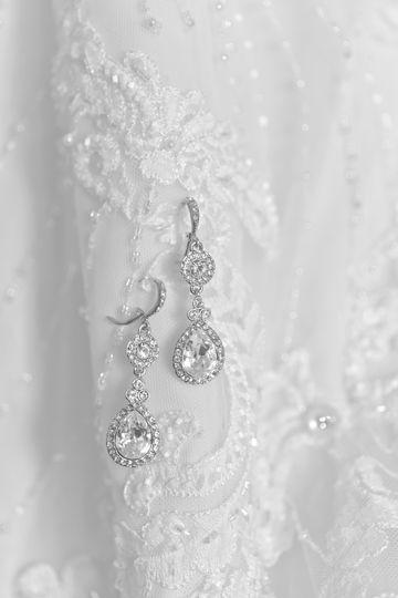 Earring Detail Shot