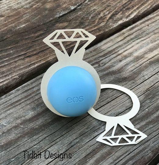 eos Diamond Ring Lip Balm Holders...