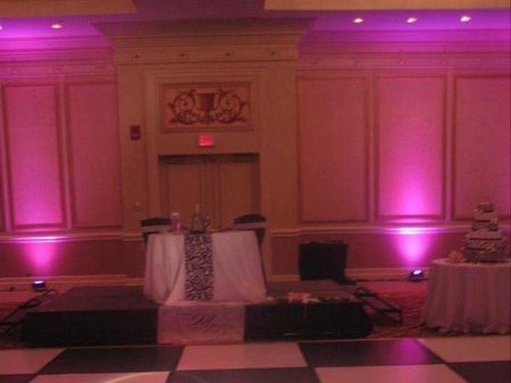Tmx 1335454780937 MonogramGobowithPinkUplights Henrico, NC wedding eventproduction