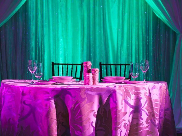 Tmx 1363700544316 HeadTableWBeadedCurtain Henrico, NC wedding eventproduction