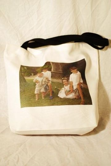This canvas tote bag makes a wonderful bridal party gift!  At Images Everything we like to say,...