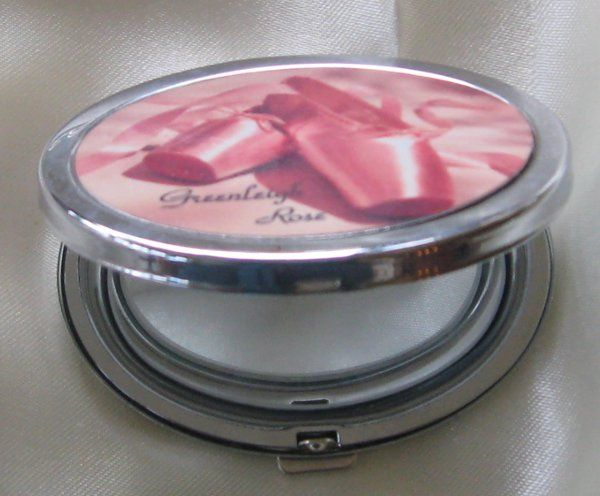 personalized compact mirror retails $12   customize with a photo of you and your brides maids and a...