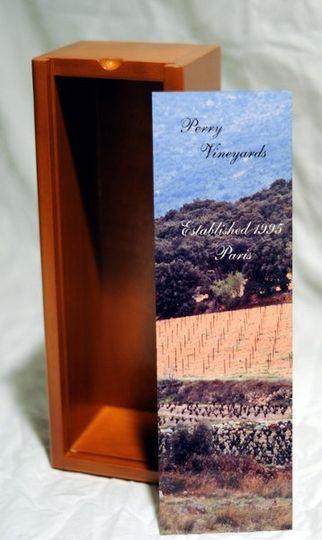 custom wine box retails $32