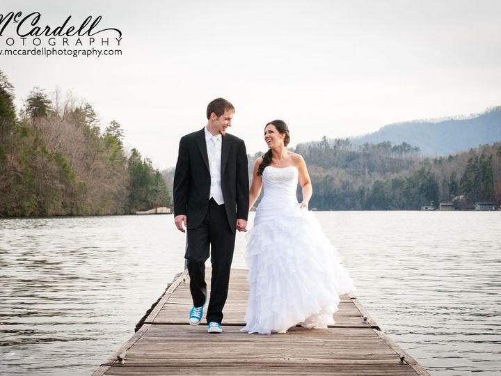 Tmx 1381867800597 73lake Lure Wedding Photography Rumbling Bald Lake Lure, North Carolina wedding venue
